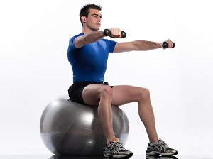 swissball Fitness Fads Come And Go, But The Swiss Ball Is Here To Stay